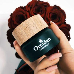 Krem różany z koenzymem Q10 - Orcideo